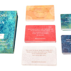Living Yoga 108 all card colour quotes