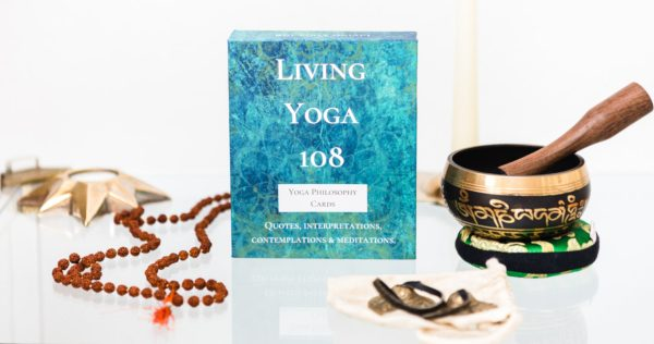 living yoga 108 set of cards quotes and interpretations